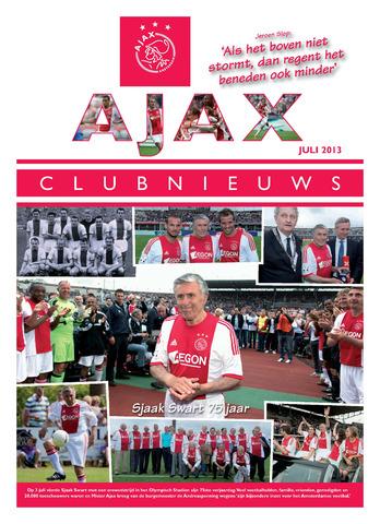 Clubnieuws Ajax (vanaf 1916) 2013-07-01
