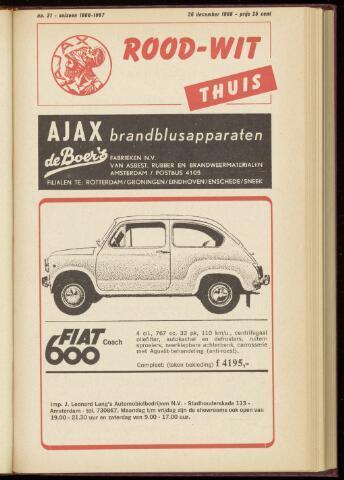 Programmaboekjes (vanaf 1934) 1966-12-26