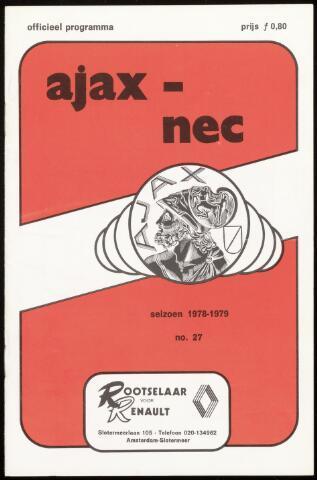 Programmaboekjes (vanaf 1934) 1979-04-21