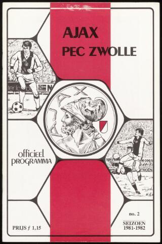 Programmaboekjes (vanaf 1934) 1981-08-23