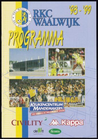 Programmaboekjes (vanaf 1934) 1998-11-22