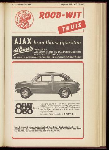 Programmaboekjes (vanaf 1934) 1967-08-13