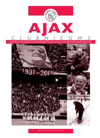 Clubnieuws Ajax (vanaf 1916) 2008-11-01