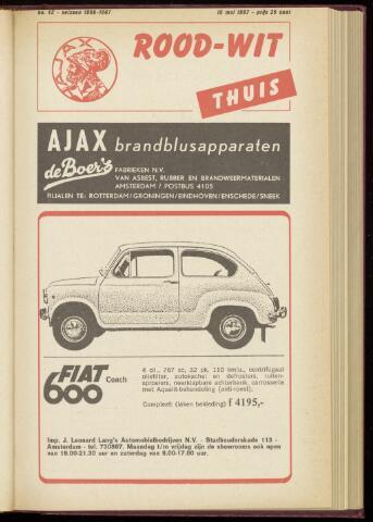 Programmaboekjes (vanaf 1934) 1967-05-15