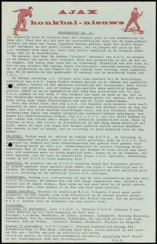Honkbal nieuws (1963-1972) 1970-09-07