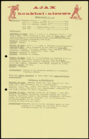 Honkbal nieuws (1963-1972) 1966-06-07