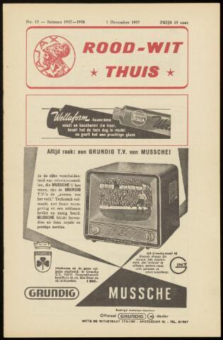 Programmaboekjes (vanaf 1934) 1957-12-01
