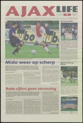 Ajax Life (vanaf 1994) 2001-10-25