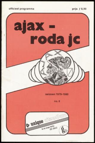 Programmaboekjes (vanaf 1934) 1979-10-07
