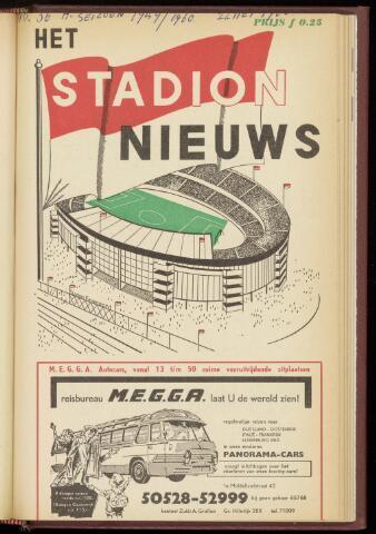 Programmaboekjes (vanaf 1934) 1960-05-22