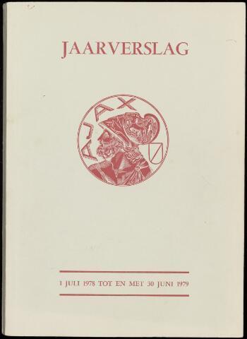 Jaarverslagen Vereniging (vanaf 1964) 1979-06-30