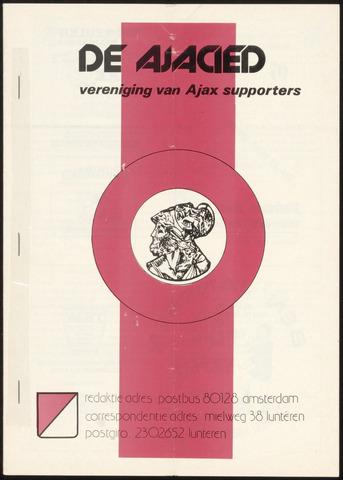 Clubblad De Ajacied (1997-2009) 1978