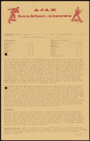 Honkbal nieuws (1963-1972) 1965-05-17