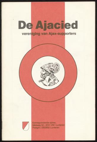 Clubblad De Ajacied (1997-2009) 1980-05-20