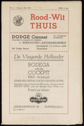 Programmaboekjes (vanaf 1934) 1949-09-18