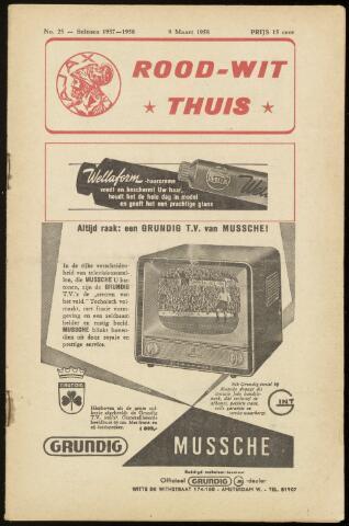 Programmaboekjes (vanaf 1934) 1958-03-09