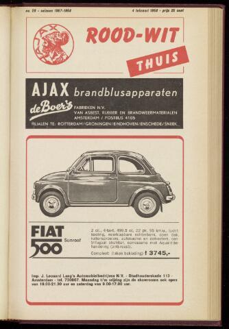 Programmaboekjes (vanaf 1934) 1968-02-04
