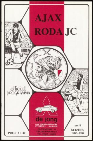 Programmaboekjes (vanaf 1934) 1983-11-20