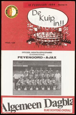 Programmaboekjes (vanaf 1934) 1984-02-15