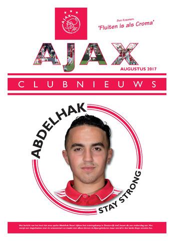 Clubnieuws Ajax (vanaf 1916) 2017-08-01