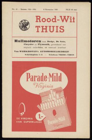 Programmaboekjes (vanaf 1934) 1953-11-08
