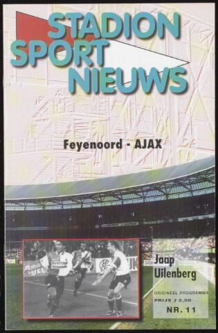 Programmaboekjes (vanaf 1934) 1996-11-24
