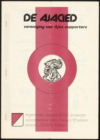 Clubblad De Ajacied (1997-2009) 1978-04-25