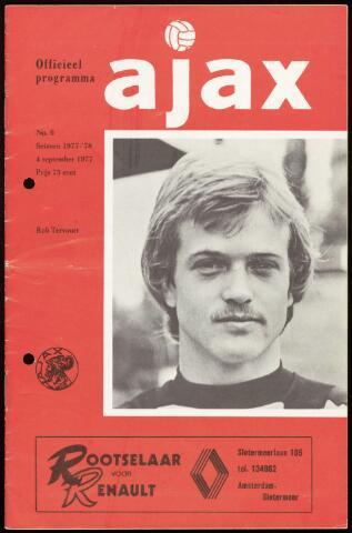 Programmaboekjes (vanaf 1934) 1977-09-04