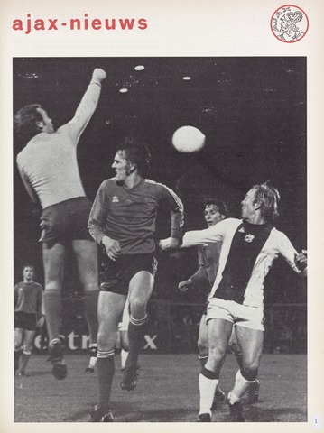 Clubnieuws Ajax (vanaf 1916) 1976-04-01