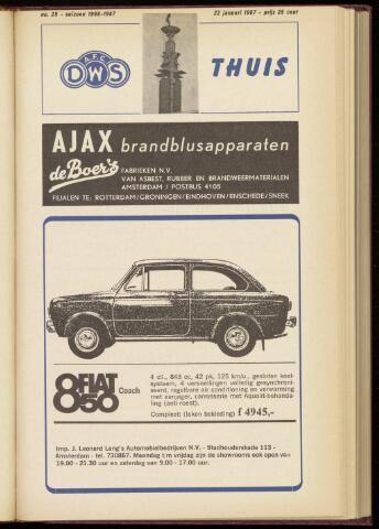 Programmaboekjes (vanaf 1934) 1967-01-22