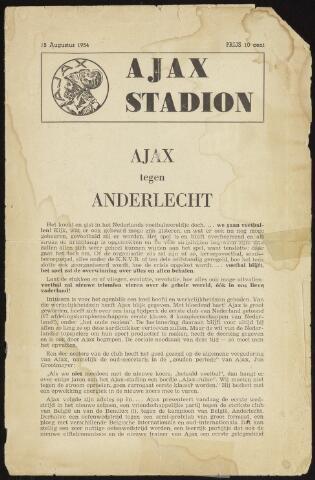 Programmaboekjes (vanaf 1934) 1954-08-15