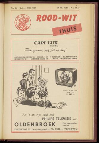 Programmaboekjes (vanaf 1934) 1961-05-28