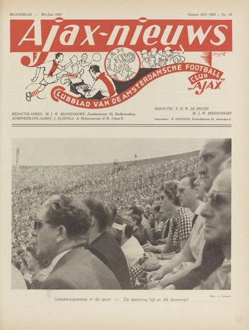 Clubnieuws Ajax (vanaf 1916) 1960-05-01