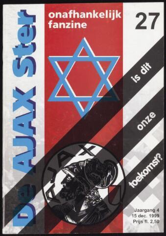 Fanzine De Ajax Ster (1996-2001) 1999-12-15