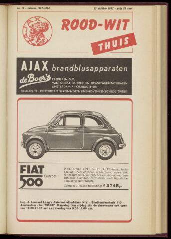Programmaboekjes (vanaf 1934) 1967-10-22