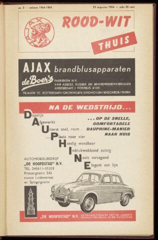 Programmaboekjes (vanaf 1934) 1964-08-23