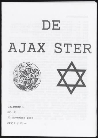 Fanzine De Ajax Ster (1996-2001) 1996-11-13