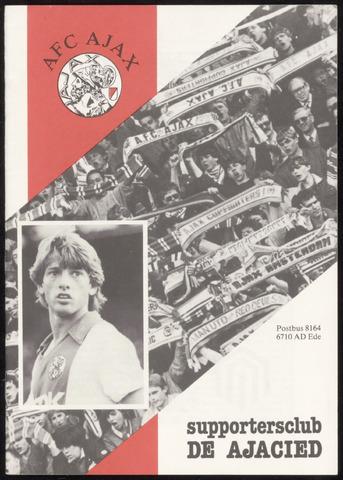 Clubblad De Ajacied (1997-2009) 1984-03-01