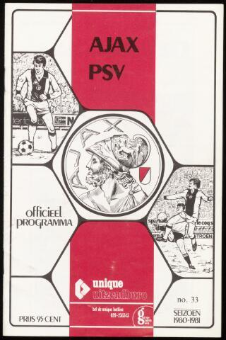 Programmaboekjes (vanaf 1934) 1981-05-05