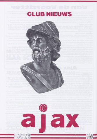 Clubnieuws Ajax (vanaf 1916) 1990-12-08