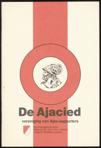 Clubblad De Ajacied (1997-2009) 1980-06-16