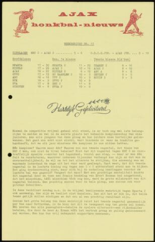 Honkbal nieuws (1963-1972) 1966-07-18