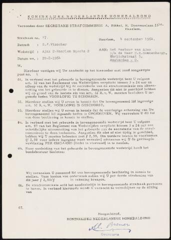 Honkbal divers (1963-1972) 1964-09-04