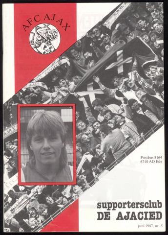 Clubblad De Ajacied (1997-2009) 1987-06-01