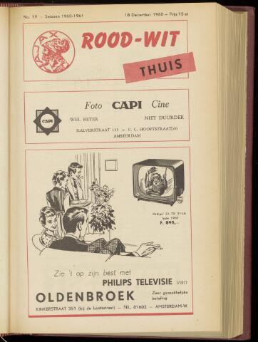 Programmaboekjes (vanaf 1934) 1960-12-18