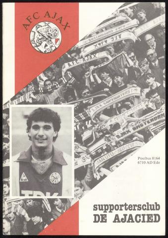 Clubblad De Ajacied (1997-2009) 1984-08-01