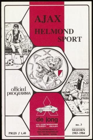 Programmaboekjes (vanaf 1934) 1983-09-04