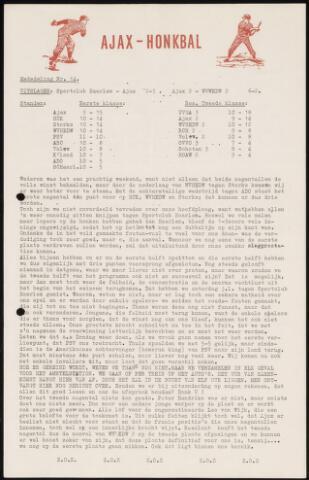 Honkbal nieuws (1963-1972) 1963-07-15