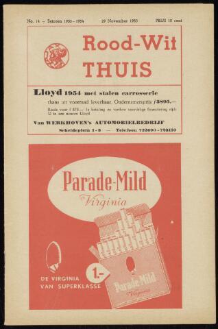 Programmaboekjes (vanaf 1934) 1953-11-29