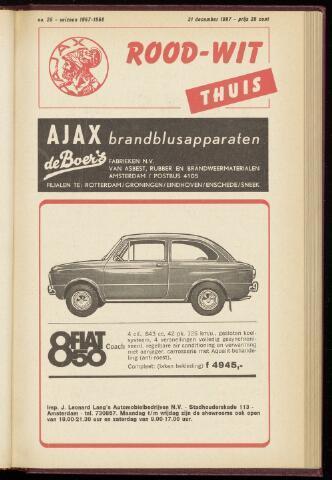 Programmaboekjes (vanaf 1934) 1967-12-31